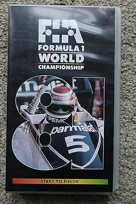 VHS Official 1981 Formula One F1 Season review