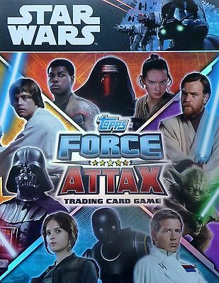 Star Wars Force Attax Universe 2017 complete set of 272 cards + LIMITED EDITION