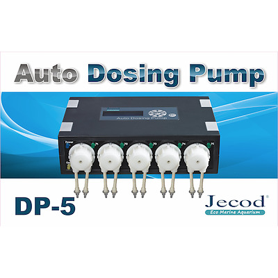 Jecod / Jebao Auto Dosing Pump - Marine Aquarium Doser - 2 3 4 5 Way and Slave