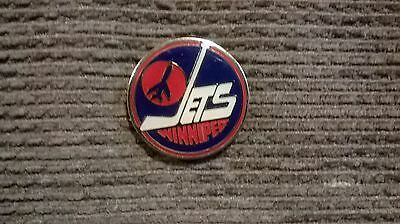 Winnipeg Jets (1972-1996) ice hockey pin badge