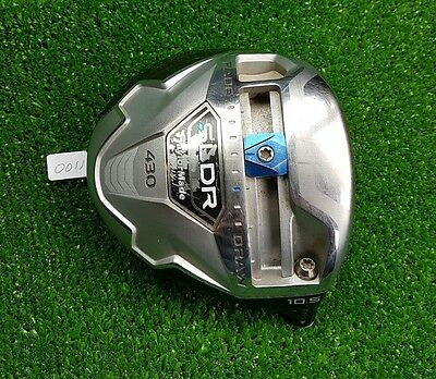 Taylormade SLDR 430 driver head only / 10.5 /  good condition /serial number