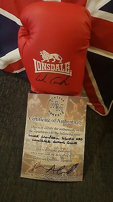 Signed Luke Campbell Boxing Glove with COA