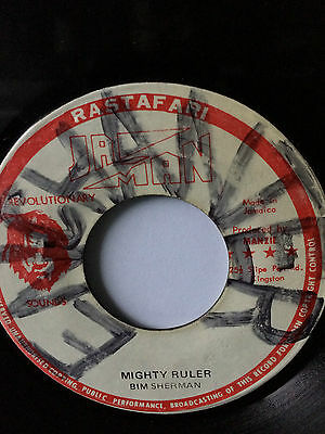 "Bim Sherman ""mighty Ruler"" On The Ja Man Label 7""."