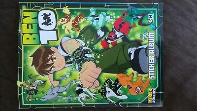 Ben 10 Album & Set of 202 stickers Merlin