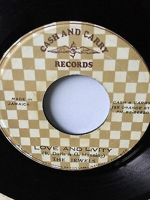 "The Jewels ""love And Livity"" On Cash & Carry Label 7""."