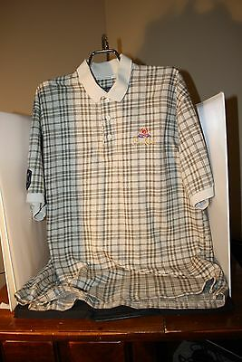 Fore Crown Royal Short Sleeve Golf Shirt, Pre-owned, XL