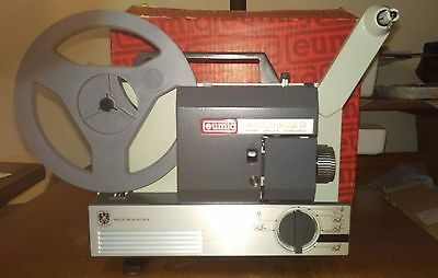 Eumig Mark-502D Super 8 8mm Cine Film Projector Boxed