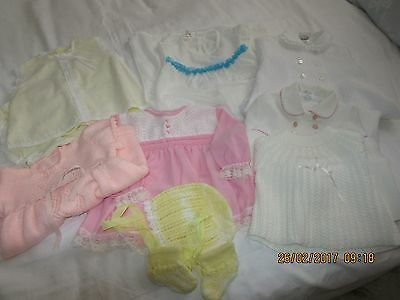 Bundle Vintage Anthentic Baby Clothes 1970's 0-6 months used
