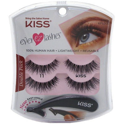 b59976e7ece KISS EVER EZ Lashes [11] 2 ea (Pack of 4) - $21.53 | PicClick