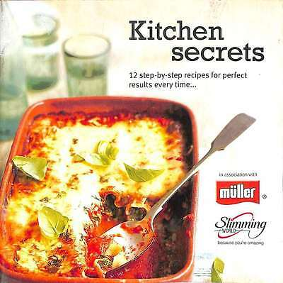 Slimming World Kitchen Secrets 12 Step By Step Recipes Booklet Vgc