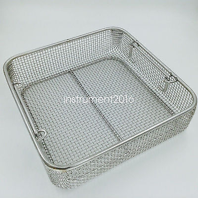 Stainless steel sterilization tray case box surgical instrument tool medical