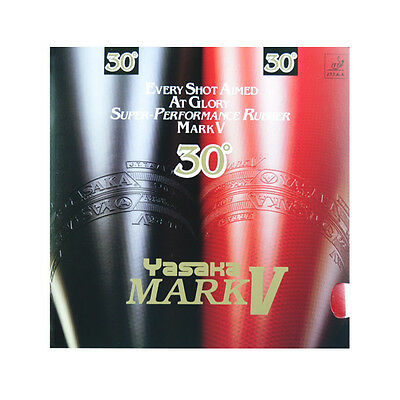Yasaka Table Tennis Rubber/Sponge: Mark V 30 / MarkV 30, New, UK