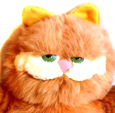 """Huge 18"""" Garfield the Cat Movie plush soft toy figure, still tagged"""