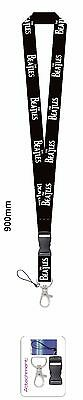 The Beatles Band Tribute Lanyard Keychain Holder + badge  On Sale