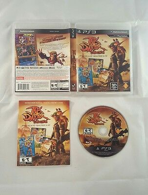 Jak and Daxter Collection (Sony PlayStation 3, 2012) COMPLETE, TESTED!