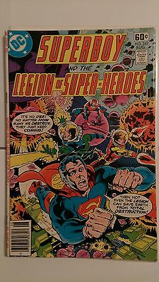 Superboy & the Legion of Super-Heroes #242 (Aug 1978, DC)