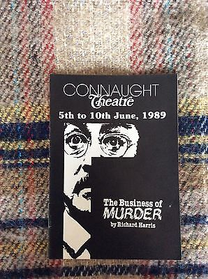Original Stage Production of The Business Of Murder @ Connaught Theatre Worthing