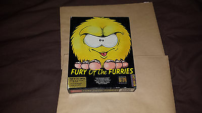 Fury Of The Furries A Mindscape Game Commodore Amiga Complete Boxed Game