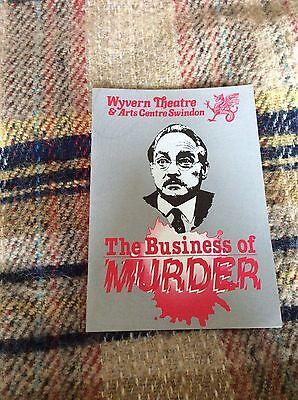 Original Stage Production of The Business Of Murder @ Wyvern Theatre Swindon
