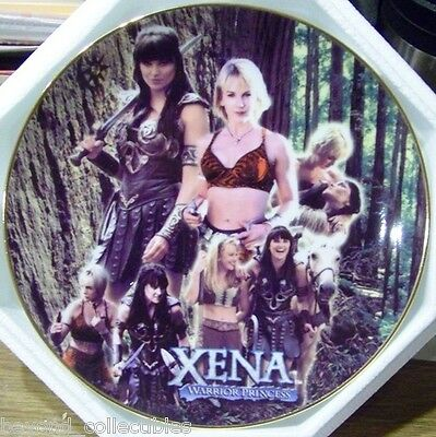 "Xena Limited Edition Collector China Plate - ""two Women One Journey"" #13 Of 500"
