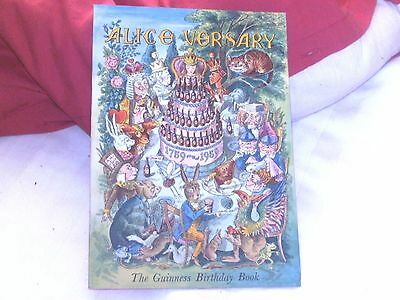 the guinness birthday book.alice versary mint