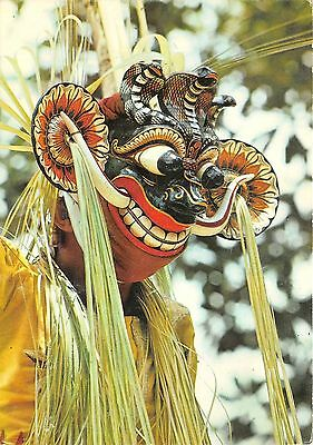 BG9323 sri lanka mask dancer types folklore ceylon ceremonial serpent devil
