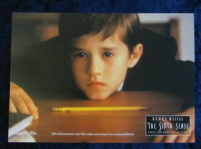 The Sixth Sense lobby card # 5 - Haley Joel Osment
