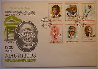 Mauritius: 1 July 1969 First Day Cover. 1
