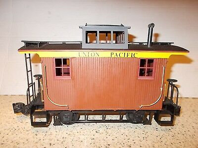 Bachmann 'g Kit' U/p Wood Bobber Caboose, Completed. Good Condition.