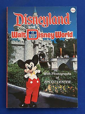1987 Disneyland and Walt Disney World - A Treasure Book of Memories Softcover