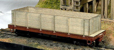 On30 Gon conversion for Bachmann 24foot On30 flat car/ 4 board version