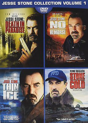 Jesse Stone 4 Movie Collection New, Free shipping