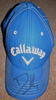 Callaway XR Big Bertha tour baseball cap - signed by Danny Willett 2016