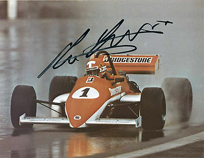 Mike Thackwell, F3000 1985 im Ralt RB20, Foto, in Person sig.