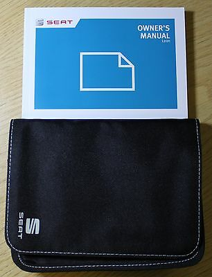 Seat Leon Handbook Covers Also Sc And St Owners Manual Wallet 2013-2016