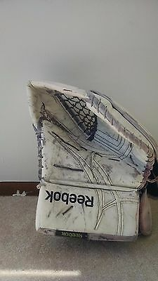 MARC ANDRE FLEURY Penguins Game Used Goalie Catcher Glove Photomatched 11-22-10