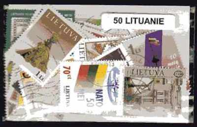 Lituanie - Lithuania 50 timbres différents