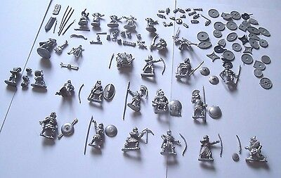 Ral Partha & Others Pre Slotta Metal Figures & Weapons