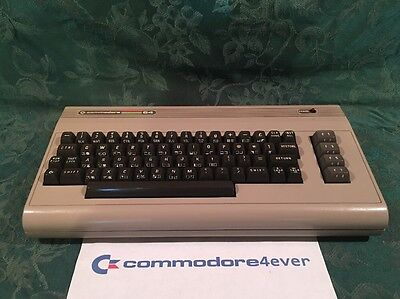 Commodore 64 With Cooling Mods *RECAPPED* VERY CLEAN