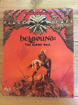 Hellbound The Blood War TSR 2621 AD&D Advanced dungeons And Dragons Planescape