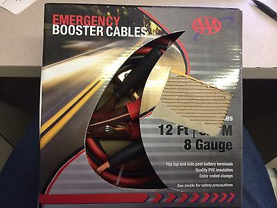 AAA Emergency Booster Cables;PRICE REDUCED