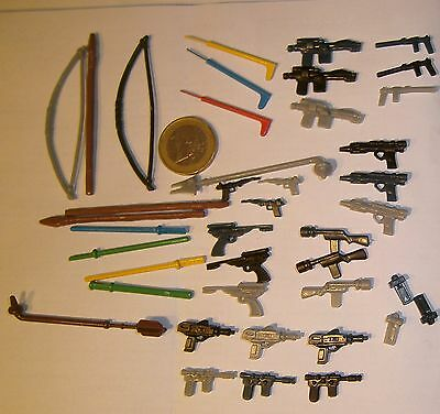 STAR WARS 41 Reproductions Vintage weapons accessories new replica Armes Armas !
