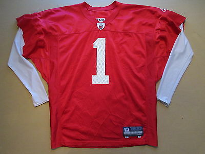 2010 Nfl Team Issue Player Worn Practice Jersey Removable Long Sleeves Xl #1