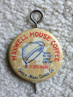 Vintage Cheek Neal Maxwell House Milk Cap Extractor 1920s?