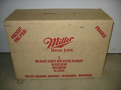 Miller High Life Bar Mirrors 1St Edition Sportsmens Series 1St Printing Box Only
