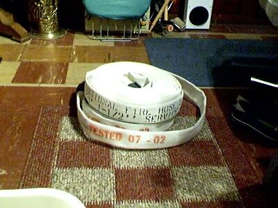 """ACTION 50FT 1 1/2"""" TESTED FIRE HOSE made in U.S,A.  NEW"""