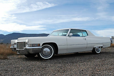 """1970 Cadillac DeVille  """"TIME CAPSULE"""", """"GREAT MUSEUM CANDIDATE"""" CALIFORNIA, 1 OWNER TILL 2015"""