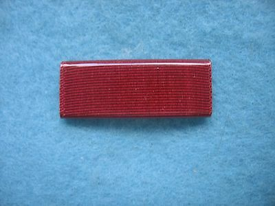Mint NOS US Navy Wide 0.5 inch Good Conduct Ribbon Wolf Brown Plastic