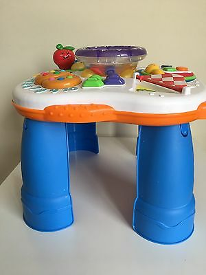 Fisher & Price Baby Toddler Toy Musical Activity Table