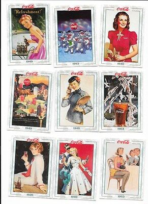 1994 Coca Cola Collection Series 2 Complete Card Set 101-200 Collect-A-Card